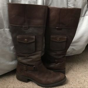Leather winter boots!